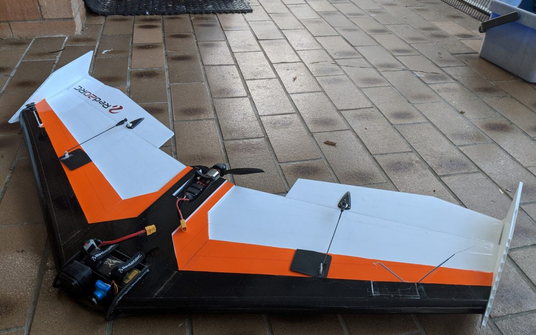 Ultimate KFm6 FPV Wing